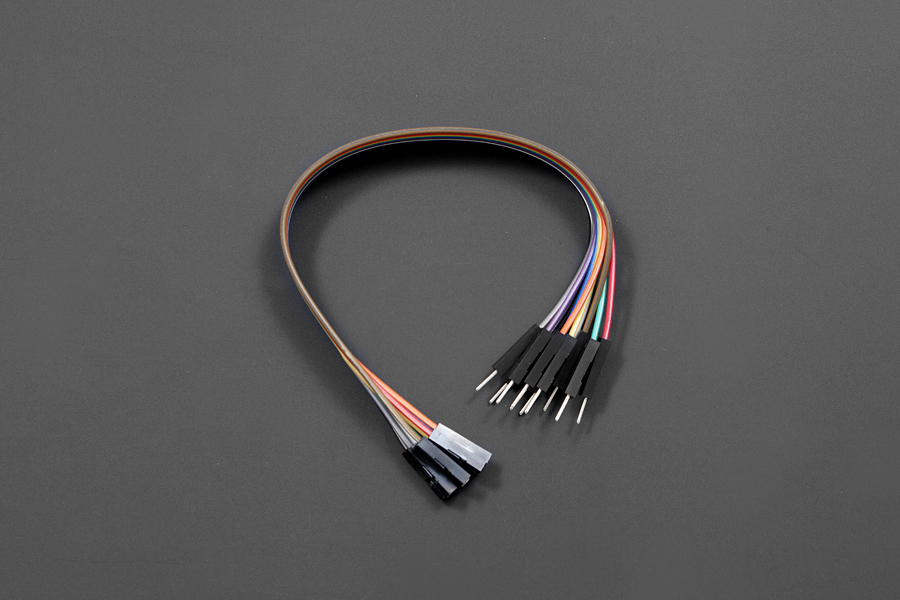 점퍼 와이어 7.8 F / M (10 팩) / Jumper Wires 7.8 F/M (10 Pack) [FIT0301]
